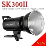 SK300II SK-300II Godox Studio Strobe Flash 300W Built in 2.4Ghz wireless X System แฟลชสตูดิโอ