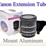 Canon Aluminum Mount Extension Tube 3 Ring AF Macro (Auto-Focus) ท่อมาโครออโต้