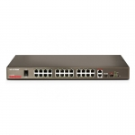 IP-COM F1226P 24-Port Fast Ethernet+2*SFP Web-smart PoE Switch