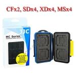 MC-3 Card Box for Memory Card 4 x CF, 4 x SD, 4 x XD, 4 x MemoryStick กล่องเก็บเมมโมรี่