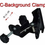 C-Type clamp with Clip for size 13-38mm. (CB-05)