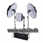E100 Set 100Wx3 Professional Flash Nice Studio Kit