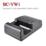 BC-VW1 Battery Charger แท่นชาร์จสำหรับแบตเตอรี่Sony NP-FW50 กล้องรุ่น A7 A7S A7R II A6000 A5100 NEX