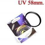 Digital Filter 58mm. UV Filter