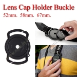 52mm 58mm 67mm Lens Cap Holder Buckle for Nikon Canon