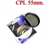 Digital Filter 55mm. CPL Circular Polarizing C-PL