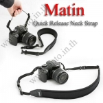 Matin Joint Quick Starp Neck for DSLR Neoprene black