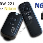 RW-221 2.4GHz Wire/Wireless Remote set N6 For Nikon D70s/D80