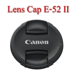 E-52 II Lens Cap Canon Logo 52mm. ฝาปิดหน้าเลนส์แคนน่อน