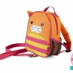 กระเป๋าเป้สายจูง ลายแมว