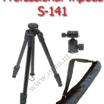 Essen S-141 Professional Tripods + Ball Head Load 6kg.