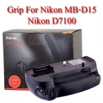Travor แบตเตอรี่กริ๊ป BG-2N Battery Grip for Nikon MB-D15 D7100