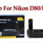 Pixel D80 Premium Grip for Nikon D80 D90 Premier Series (MB-D80)