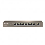 IP-COM G1009P-EI 9-Port Gigabit Unmanaged PoE Switch with 8-Port PoE