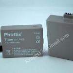 Titan Phottix Battery for Canon LP-E5 450D/Rebel XSi/BG-E5 แบตเตอรี่กล้องแคนนอน