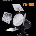 YN168 YongNuo LED Video Light ไฟต่อเนื่องสำหรับถ่ายภาพและวีดีโอ