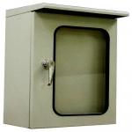 ตู้สวิทช์บอร์ดแบบกันน้ำมีหลังคา ฝา 2 ชั้น (ทึบ, กระจก) รุ่น KBSG Series