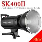 SK400II SK-400II Godox Studio Strobe Flash 400W Built in 2.4Ghz wireless X System แฟลชสตูดิโอ