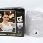 Lambency Cloud Flash Diffuser with white Dome For SB-800 SB-600 (C1)