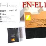 OEM Battery for Nikon EN-EL10 Coolpix S200 S500 S3000 S4000 แบตเตอรี่กล้องนิคอน