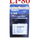 OEM Battery for Olympus LI-80B T-100 T-110 X-960 X-36 แบตเตอรี่กล้องโอลิมปัส