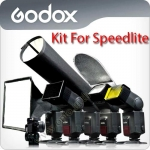 Godox SA-K6 6in1 Accessories Kit for Speedlite