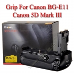 Travor แบตเตอรี่กริ๊ป BG-1J Battery Grip for Canon BG-E11 5D MKIII
