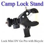 Handlebar Camp Lock Stand for GoPro Camera ขาจับกล้องขนาดเล็กติดกับจักรยานหรือมอเตอร์ไซค์