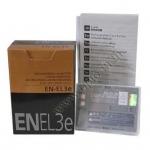 OEM Battery for Nikon EN-EL3e D700 D300 D90 แบตเตอรี่กล้องนิคอน