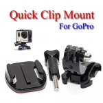 Quick Clip for GoPro Hero3+ 2 1 Accessories Camera ขายึดพร้อมหัวคลิปล็อคสำหรับกล้องโกโปร