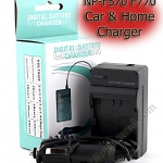 Home + CarBattery Charger For Sony NP-F570 F770 F970
