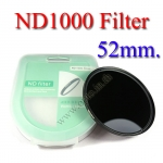 Neutral Density ND 1000 (10 Stop ND) ND1000 Filter 52mm.