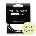 TIANYA Star 8 Filter 67mm.