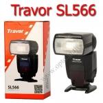 Flash SL-566 Speedlight Wireless Light Slave control LCD Panel แฟลช Travor
