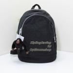 Kipling Yaretzi Black กระเป๋าสะพายเล็ก แต่ไม่ได้เล็กมาก สะพายกำลังสวย ขนาด L9.75 x H 12.75 x D 6.5 นิ้ว