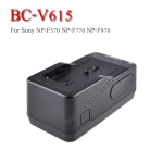 BC-V615 Battery Charger แท่นชาร์จสำหรับแบตเตอรี่Sony F570 F770 F970 ไฟLED YN300 YN600 YN900