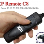 XP C8 สายลั่นชัตเตอร์ รีโมท Wired Remote For Canon 5D Mark IV III 5D4 5DS R 7D2 1DX M2