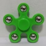 แฮนด์ สปินเนอร์ 5 แฉก (Hand Spinner) สีเขียว