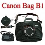 Canon B1 DSLR Camera Bag Gift กระเป๋าใส่ของแคนนอน เป็นถุงผ้าจุของได้เยอะ