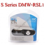 JJC S Series สายลั่นชัตเตอร์ รีโมท Wired Remote Control P6 For Panasonic DMW-RSL1 FZ150 GX1 GH2 G3