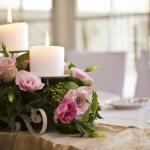 Candle Decoration | เทียนสวยและดอกไม้ - ร้านดอกไม้ฟลอเรซอง