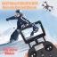 โดรนจีพีเอสราคาถูก โดรนgps โดรนติดกล้อง ที่มีระบบดาวเทียมในการลอคความสูง ทำให้บินนิ่ง ภาพชัด ระดับ HD 1080 P thumbnail 7