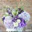 กล่องดอกไม้วันเกิด โทนสีม่วงพาสเทล (L) thumbnail 2