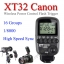 XT-32 XT32c Canon Wireless 2.4Ghz Control For Flash Godox QS QT DE GS Series AD360 AD600 thumbnail 1
