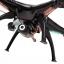 โดรนติดกล้อง ราคาถูก เซื่อมต่อมือถือได้ Syma X5SW Quadcopter สีดำ กล้องชัด 720P thumbnail 5