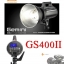 GS400II GS-400II Godox Studio Strobe Flash 400W Built in 2.4Ghz wireless X System แฟลชสตูดิโอ thumbnail 1
