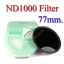 Neutral Density ND 1000 (10 Stop ND) ND1000 Filter 77mm thumbnail 1