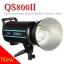 QS800II Godox Professional Studio Strobe Flash Light 800Ws Built-in Wireless X System แฟลชสตูดิโอ thumbnail 1