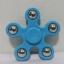 แฮนด์ สปินเนอร์ 5 แฉก (Hand Spinner) สีฟ้า thumbnail 1