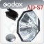 AD-S7/AD-S8 Multifunctional Softbox With Grid For Godox AD180 AD360 Flash thumbnail 1